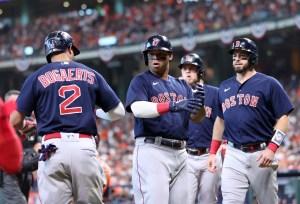 Medias Rojas propinaron humillante derrota a Astros para igualar la Serie de Campeonato