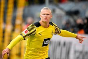 """Un Haaland en """"modo bestia"""" coloca al Dortmund como líder provisional de la Bundesliga"""