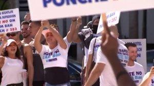 Residentes de Miami Beach protestaron contra la reducción del horario para ventas de licores