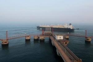Reuters: China acude al gas licuado de EE.UU. ante la crisis energética