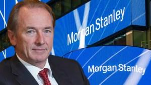 """James Gorman, presidente de Morgan Stanley: El bitcoin está """"aquí para quedarse"""""""