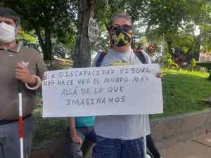 San Cristóbal: Una ciudad llena de obstáculos para personas invidentes y con discapacidad motora