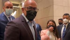 "Jorge Rodríguez insistió en que ""Alex Saab es delegado pleno"" de las negociaciones (Video)"
